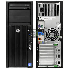 HP Z420 Desktop / Workstation Intel E5-1650 3.2 GHz/ 12GB RAM / 1TB HDD / Win
