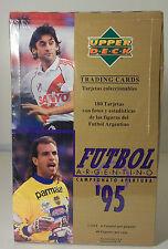 1995 Upper Deck Argentina Futbol Box Soccer