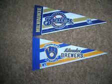 Milwaukee Brewers mini pennant lot