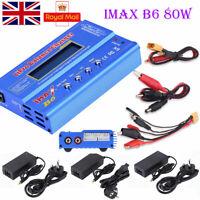iMAX B6 Mini Lipo NiMH Polymer RC LCD Digital Battery Balance Charger UK/EU Plug