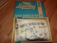SUPERDRY HIGH TOP SHOES 7 UK (ORIGINAL) SUPER SERIES 52