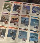 IMP International Masters Publishers Aircraft Of The World Lot Of 12) Cards