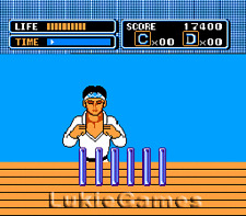 The Karate Kid - NES Nintendo Game