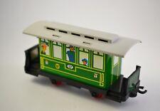 Vintage Railway Carriage Tin & Plastic Toy