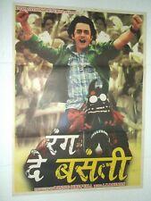 RANG DE BASANTI 2006 Aamir Khan Soha Ali R Madhavan Kunal Poster Bollywood Rare
