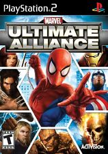 PS2 MARVEL ULTIMATE ALLIANCE PAL FORMAT EXCELLENT CONDITION