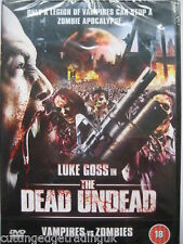 The Dead Undead: Vampires Vs Zombies (DVD, 2011) NEW SEALED Region 2 PAL
