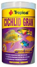 Tropical Cichlid Gran - Food Granules for and Others Large Aquarium Fish 1000ml
