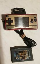 Nintendo Game Boy Micro Famicom Console - Red/Gold Tested + Game 007 NightFire