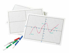 Didax Write And Wipe Graphing Board Set For Grades 3 8 9 X 12 Inches
