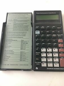 Texas Instruments BA II Plus Advanced Business Analyst Calculator Tested