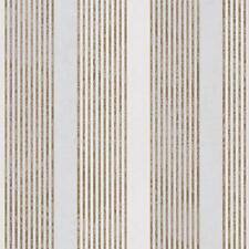Marburg Rae Stripe Wallpaper Marble Motif Modern Embossed Metallic Roll 53105
