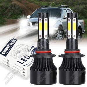 For Nissan Titan 2004 2005 2006 2007 2008 2009 2010-2015 2x LED Headlight Bulbs