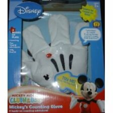 DISNEY'S MICKEY MOUSE CLUBHOUSE MICKEY'S COUNTING GLOVE WITH BOX (HARD TO FIND)