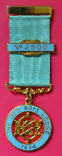 The Old Boys Lodge No 2500 masonic centenary jewel