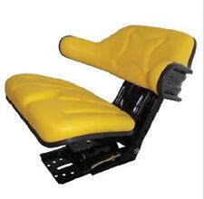 Yellow Tractor Seat Wrap Around Power Farming Part # MI-ECO109A