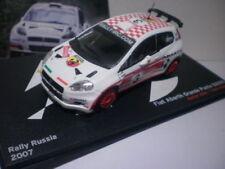 Voitures de courses miniatures multicolores Fiat 1:43