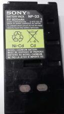 Batterie pour Sony modèle/réf. NP-33 6V 800mAh