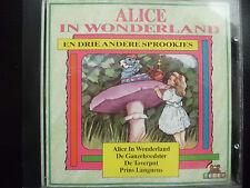 ALICE IN WONDERLAND , DE TOVERPUT, PRINS LANGNEUS....CD 1992, TEDDY ,NEDERLAND,