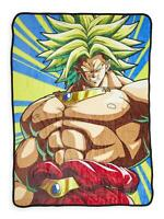 Dragon Ball Z Goku Super Saiyan 3 Japanese Fleece Throw Blanket60 x 45 Inches