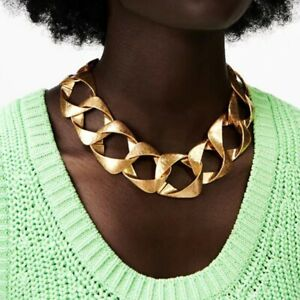New Fashion Chunky Style Metal Chain Necklace