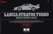 Tamiya 1 24 Lancia Stratos Turbo Silver Plat.