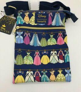 Loungefly Disney Princess Dress Closet - Crossbody Purse Dresses Passport Bag