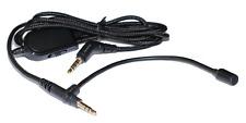 ienzaGenCables Headphone Audio Cable with Mic Boom Converts Premium Headphones