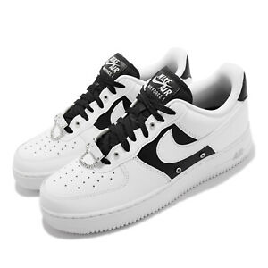 Nike Air Force 1 07 PRM AF1 Silver Chain White Black Men Casual Shoes DA8571-100
