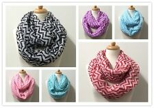 US Seller Wholesale Infinity Scarves Large Size Soft 12-Pack Mixed Color #6009