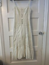 Karen Millen Broderie anglaise  Summer Dress Size 10