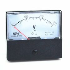 Ac 0 300v Analog Panel Meter Voltmeter Gauge Dh 670