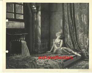VINTAGE Esther Ralston GORGEOUS GLAMOUR ORNATE SET 20s Publicity Portrait