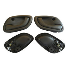 Fit 99-04 Chevy Chevrolet Tracker Inside Front Left Right Gray Door Handle 4Pcs