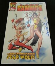Lady Rawhide #1/2 (1996) Wizard Exclusive signed by Don McGregor NM 9.0-9.2 Q857