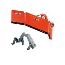Modellini statici di mezzi agricoli arancioni plastici scatola chiusi