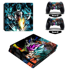 Dragon Ball Super Vinyl Decal Skin Sticker for Sony PS4 Slim Console Controllers