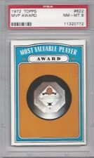 1972 Topps baseball card #622 MVP Most Valuable Player Award graded PSA 8