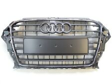 Original Audi A3 8V Kühlergrill Frontgrill steingrau grau - 8V3853651 1QP