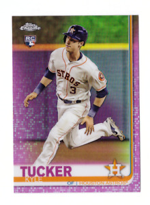 2019 Topps Chrome KYLE TUCKER Rookie Pink Refractor SP Mint Astros RC Logo