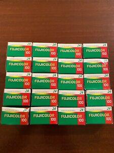 20 x Fujicolor 100 24 Exp 35mm  expired film job lot