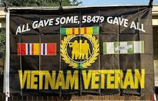 New Vietnam Veteran All Gave Some 3X5 Military Banner Flag USA Source