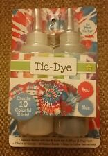 TIE DYE No Mess Red/Blue (create 10 Shirts)