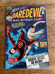 Daredevil #7 Marvel Comics 1965  Silver Age 1st App Red Costume Sub-Mariner -