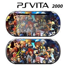 Vinyl Decal Skin Sticker for Sony PS Vita Slim 2000 Kingdom Hearts Final Mix II