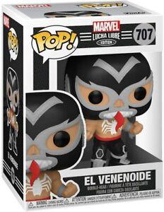 Marvel Lucha Libre Edition El Venenoide Pop Vinyl Figure #707 Funko Venom