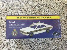 BEST OF BRITISH POLICE CARS, FORD GRANADA MK1 AVON  (VANGUARD CASTINGS) .JA13