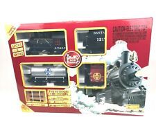 LGB Santa Fe Train Set Model Train In/Outdoor NEW freight train light and smoke
