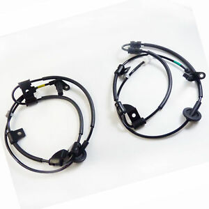Rear Left & Right Wheel ABS Speed Sensor for Hyundai Tucson Kia Sportage 2Pcs