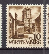 Wurttemberg 1948 Early Issue Fine Mint Hinged 10pf. NW-05565